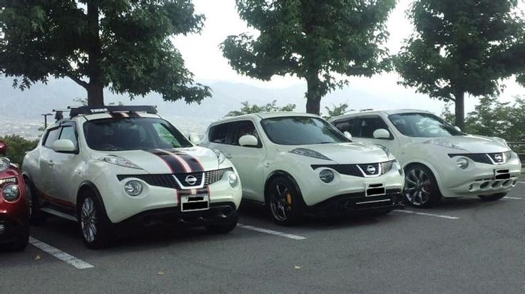 #Nissan Juke 's Pearl White!