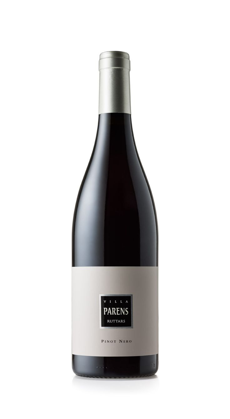 """VILLA PARENS -  Ruttars PINOT NERO, there must be a red wine, definitely the real """"King"""", the hardest challenge for the greatest emotion."""