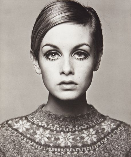 Twiggy by Barry Lategan, 1966.