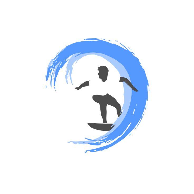 Surfing Logo Design
