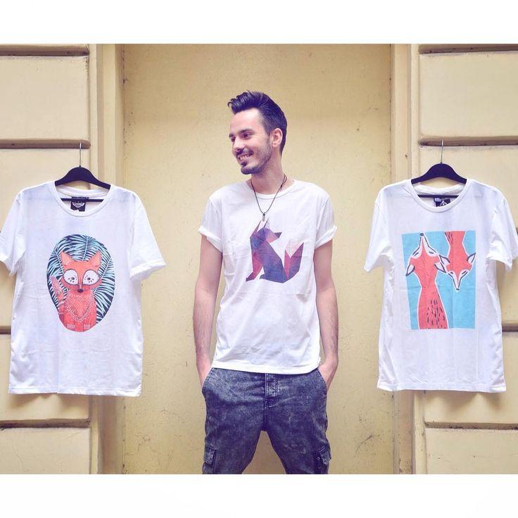 Choose your fox   men t-shirt collection ss17 szputnyik wildlife