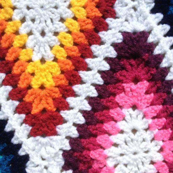 pattern: Harlequin LongGrannyDiamond