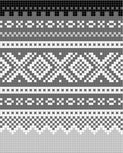 Norwegian pattern: Marius