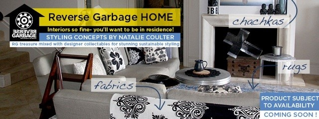 Coming Soon >> RG Home: Items from Reverse Garbage transforming living spaces with the help from Sustainable Stylist Natalie Coulter. RG Home showcases how you can save on your budget, save resources from landfill, save the environment and transform tired old living spaces with materials from Reverse Garbage!