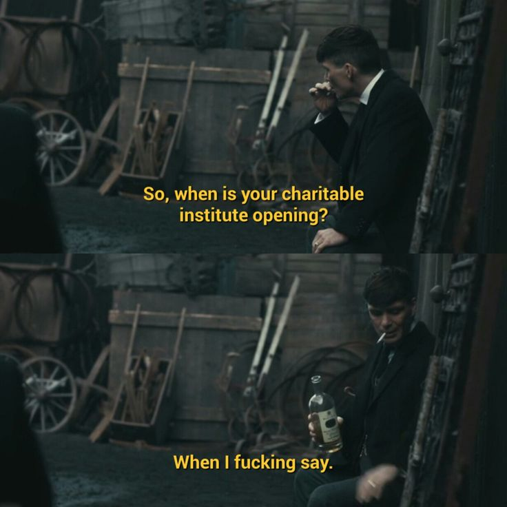 Thomas Shelby is such a savage #peakyblinders Peaky Blinders season 3 episode 2