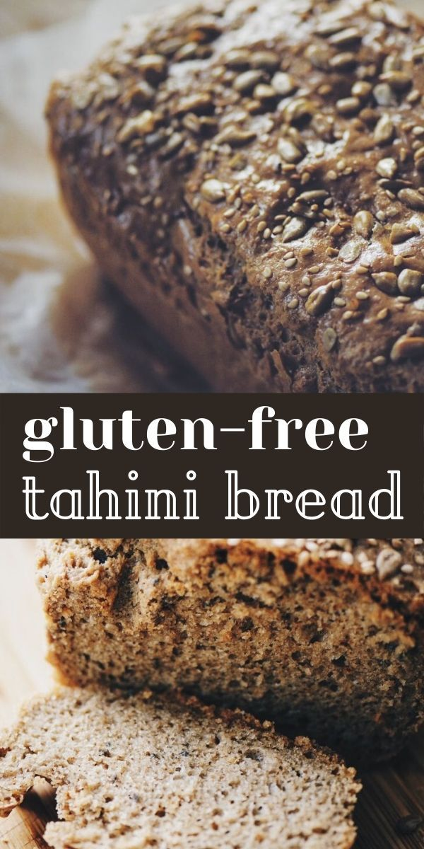Flourless Magic Tahini Seed Bread Gluten Free Keto Recipe In 2020 Flourless Bread Gluten Free Recipes Bread Gluten Free Bread