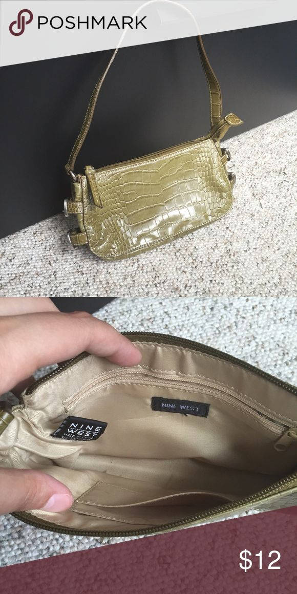 Nine West Bags - Nine West light olive green purse