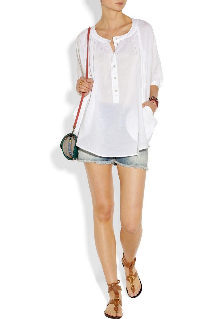 MiH Cotton-muslin shirt