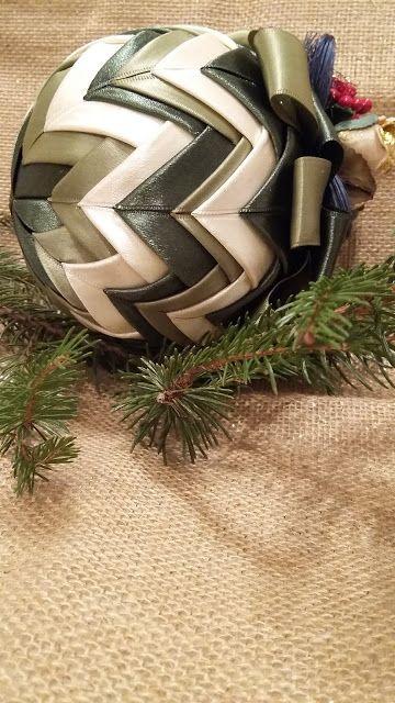 dolcefilo: originali palline di Natale fatte a mano!