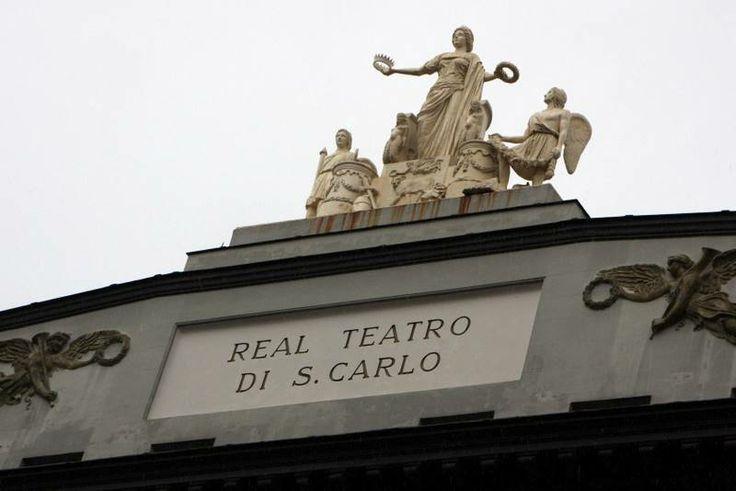 Teatro San Carlo opera house Outside