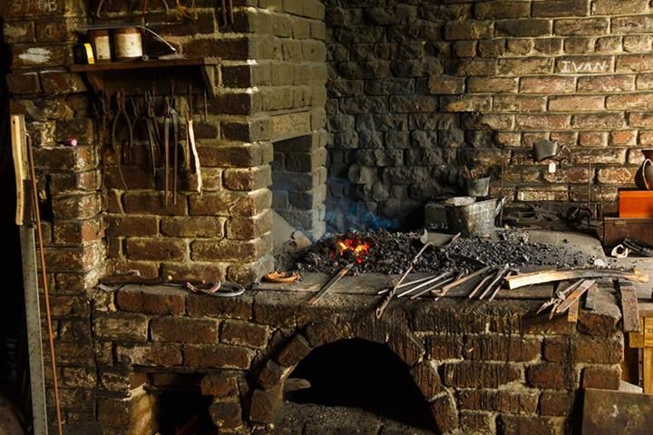 Brick Blacksmith Forge : Best images about brick forges on pinterest the