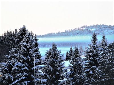 Travelling with camera obscura: Lapland winter wonderland