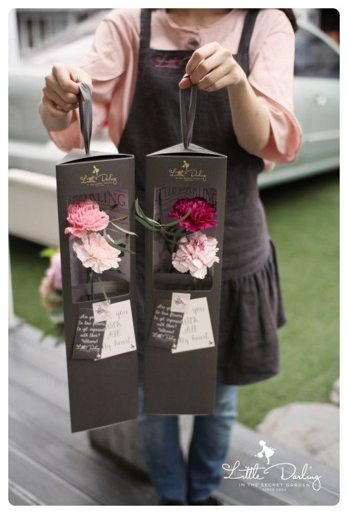 Carnation Packages From Little Darlings