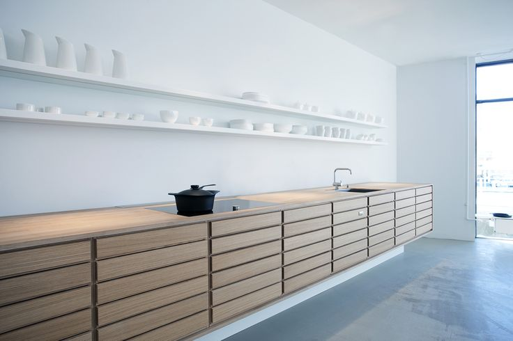Form 1 in whitestained oak - Sola Kitchens | Sola Kitchens