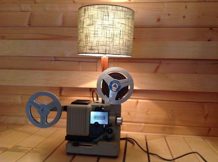 Eumig Filmprojector Lamp-VERKOCHT/SOLD!