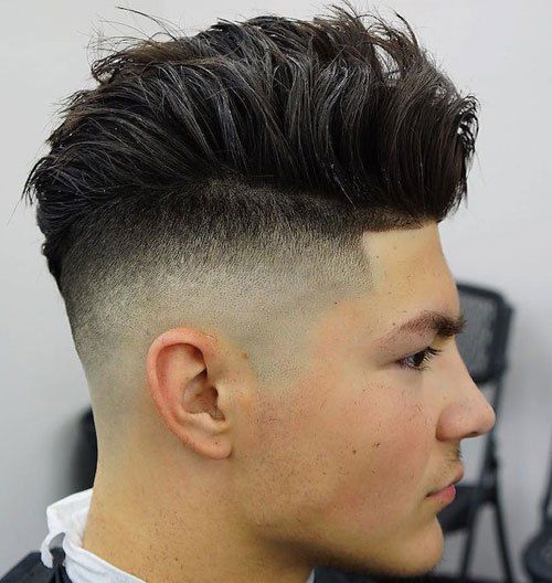 21 Fade Haircuts + Hairstyles For Men - Gentlemen Hairstyles