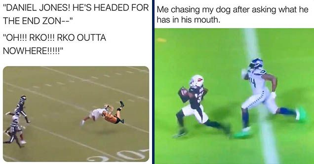 40 Funny Football Memes From Nfl Week 7 Funny Football Memes Funny Sports Memes Football Memes