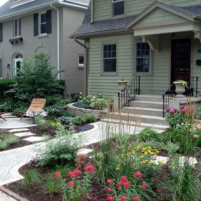 No lawn front yard design ideas pictures remodel and for Front yard renovation ideas