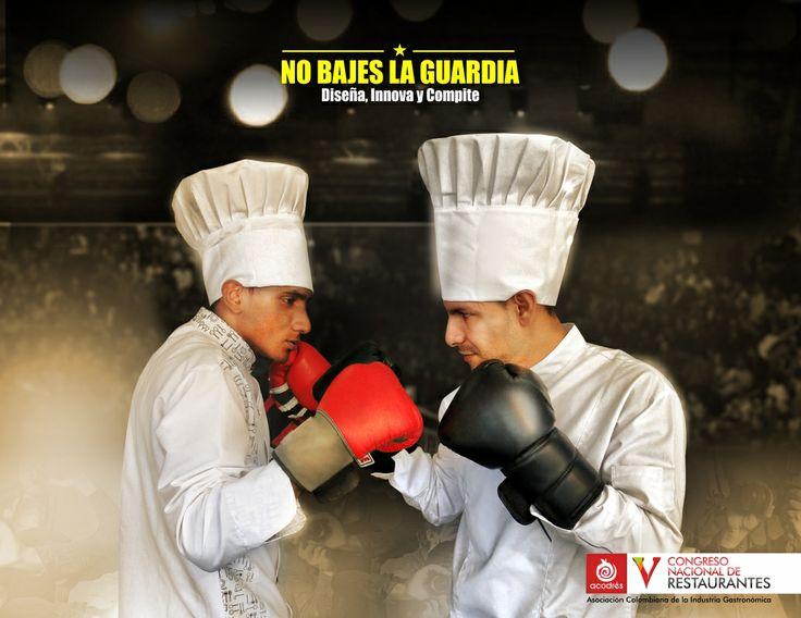 Concurso de chefs - Colorama