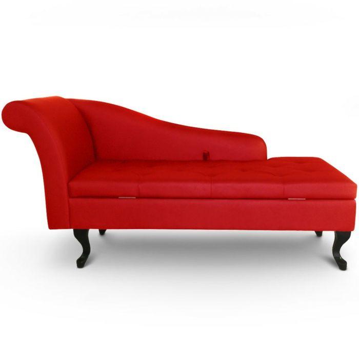 méridienne convertible de couleur rouge, meridienne convertible rouge