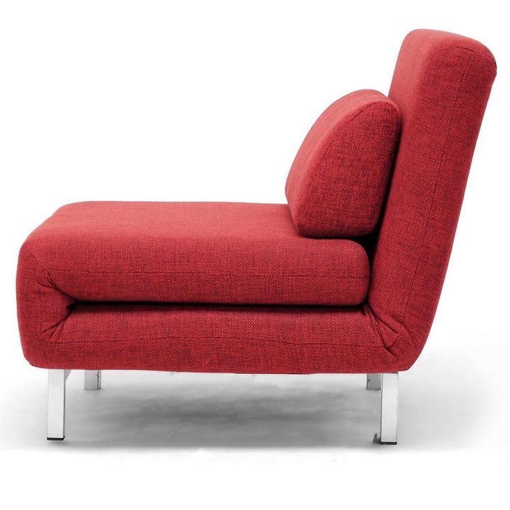 Anise Red Convertible Chair / Bed | Overstock.com