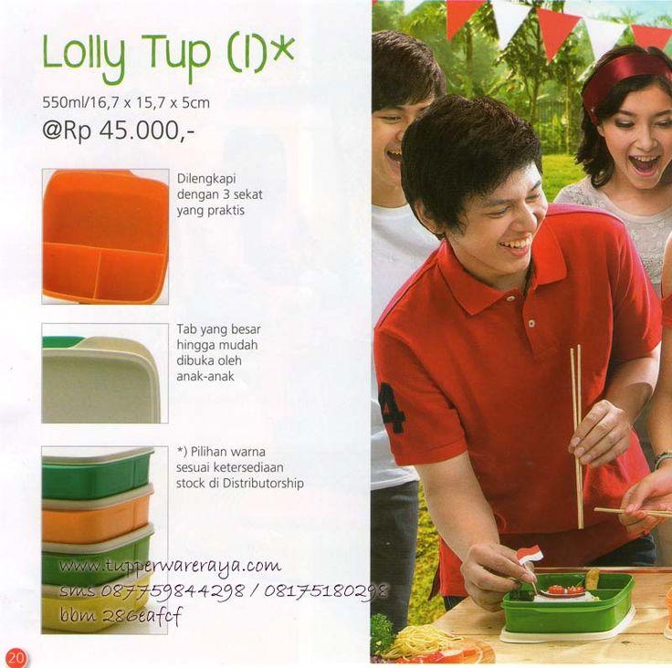 Katalog Tupperware Promo Agustus 2014 - Lolly Tup