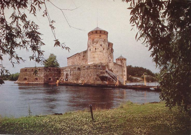SAVONLINNA Suomi Finland Olavinlinna (1475)