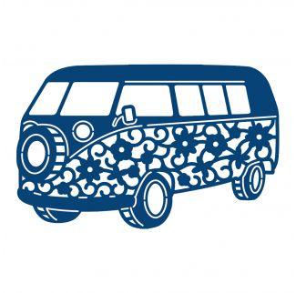 D337 Tattered Lace Dies - Camper Van