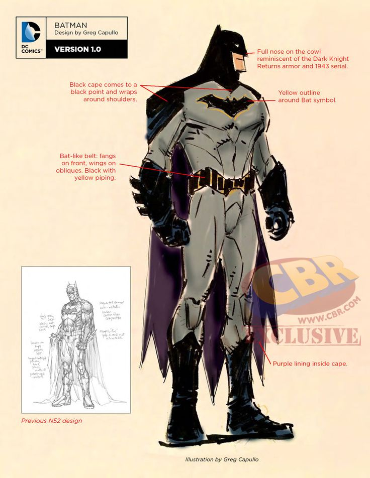 "Images for : LOOK: Greg Capullo's Batman ""Rebirth"" Redesign 