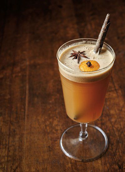 hot buttered rhum cider recipe by ed anderson slanted door