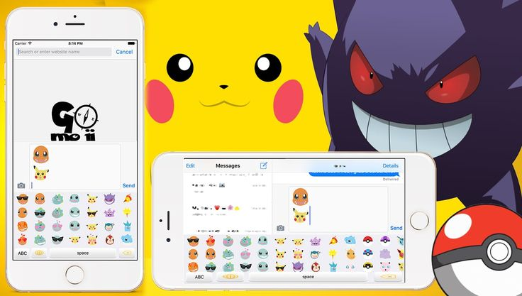 Finally A PokemonEmoji keyboard app for iOS Available for