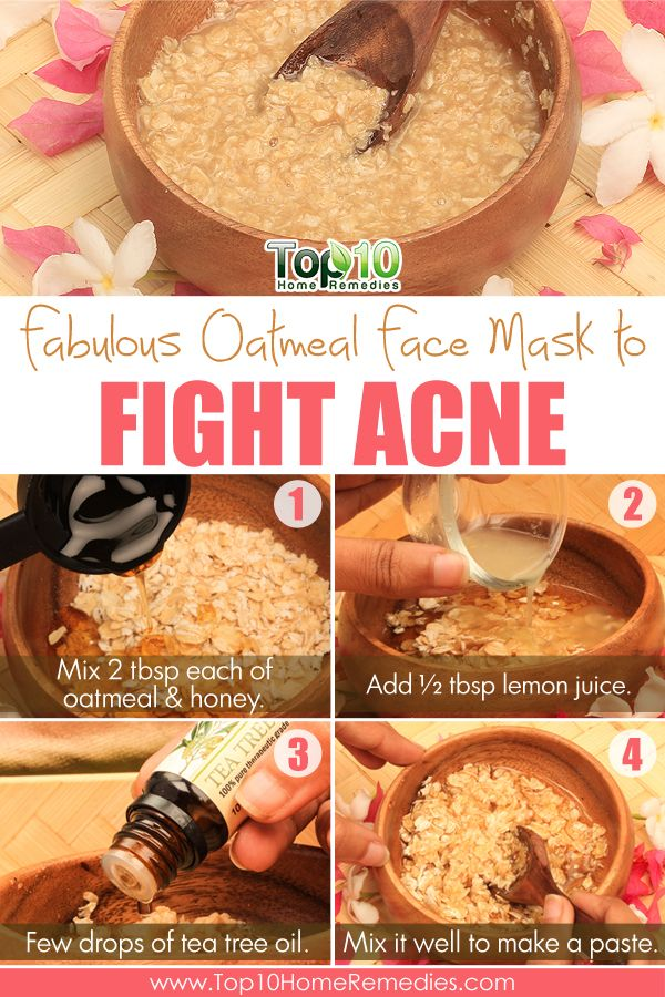 Amazing Beauty Benefits of Oatmeal for Your Skin and Hair #acne #eczema #oatmeal