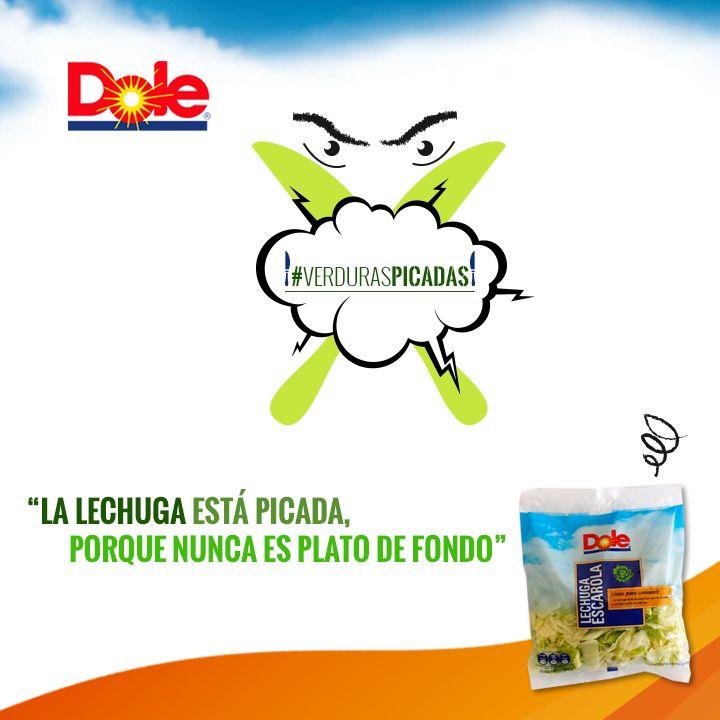 #DaleConDole y cómete todas las #VerdurasPicadas Dole