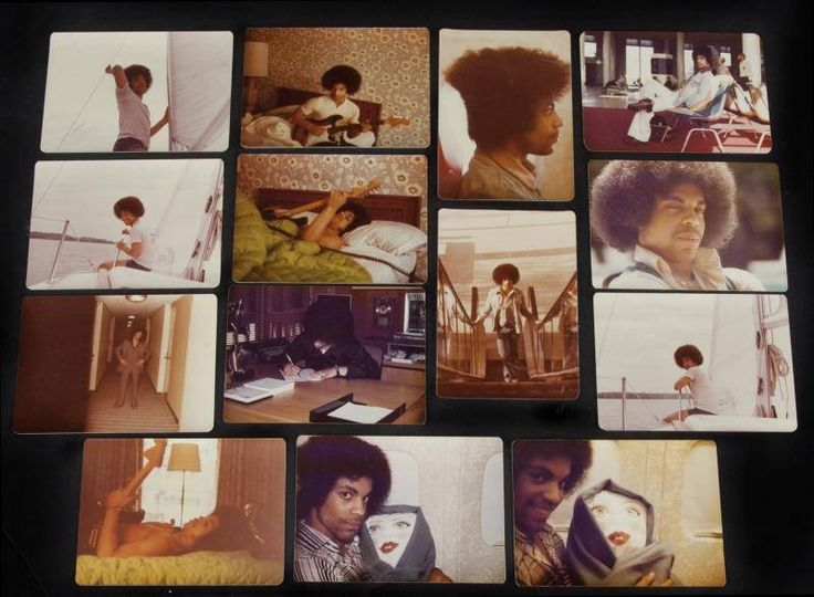 Super rare pictures of Prince 1977