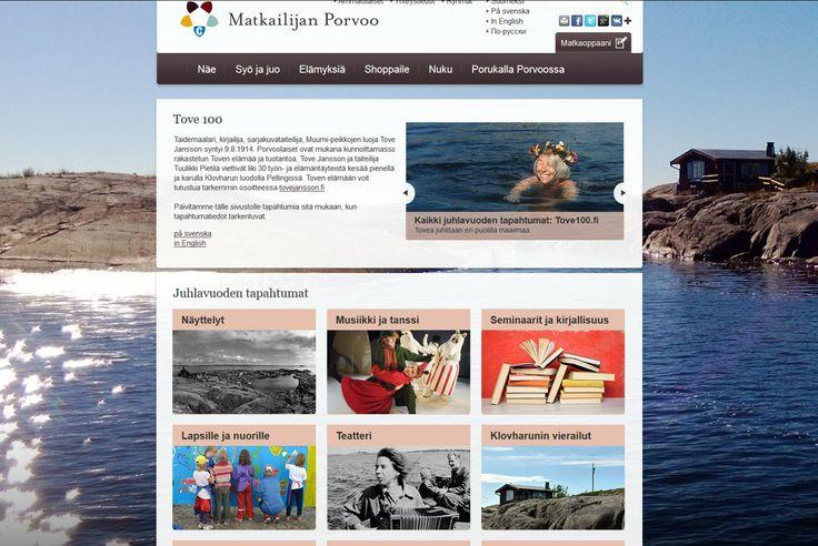 Visit Porvoo's Tove 100 site