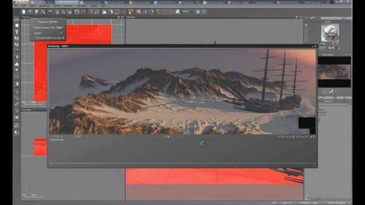 Creating realistic 3D landscapes with Vue, Microdem and World Machine