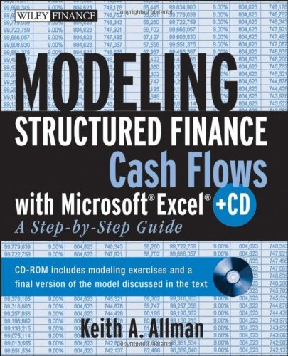 http://pfpins.com/modeling-structured-finance-cash-flows-with-microsoft-excel-a-step-by-step-guide-book-cd-rom/ A practical guide to building fully operational financial cash flow models for structured finance transactionsStructured finance and securitization deals are becoming more commonplace on Wall Street. Up until now, however, market participants have had to create their own models to analyze these deals, and new entrants have had...