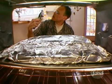 Alton shares his technique for making perfect-every-time baby-back ribs.   This video is part of   Good Eats show   hosted by Alton Brown . SHOW DESCRIPTION :Pop culture, comedy, and plain good eating: Host Alton Brown explores the origins of ingredients, decodes culinary customs and presents food and equipment trends. Punctuated by unusual inte...