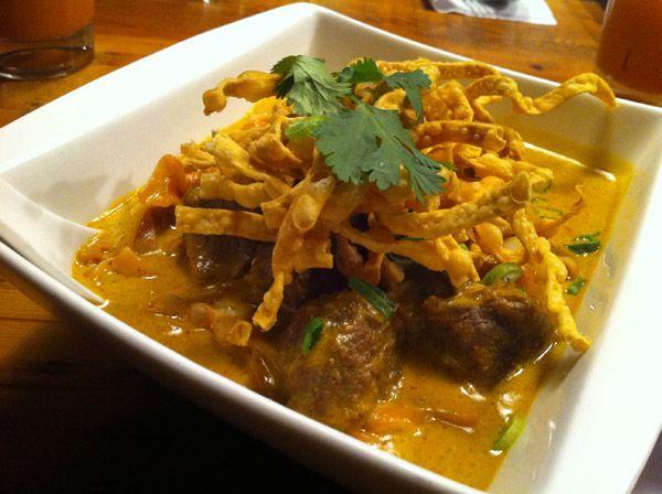 Khao San Road - Khao Soi (Thai food) So delicious