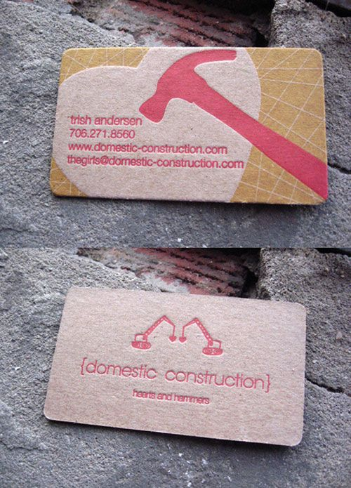 Business Card  http://awesomeinspiration.net/post/20462581746/domestic-construction
