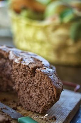 #Angelcake - Dolce senza burro, senza grassi, al Kamut e Cacao