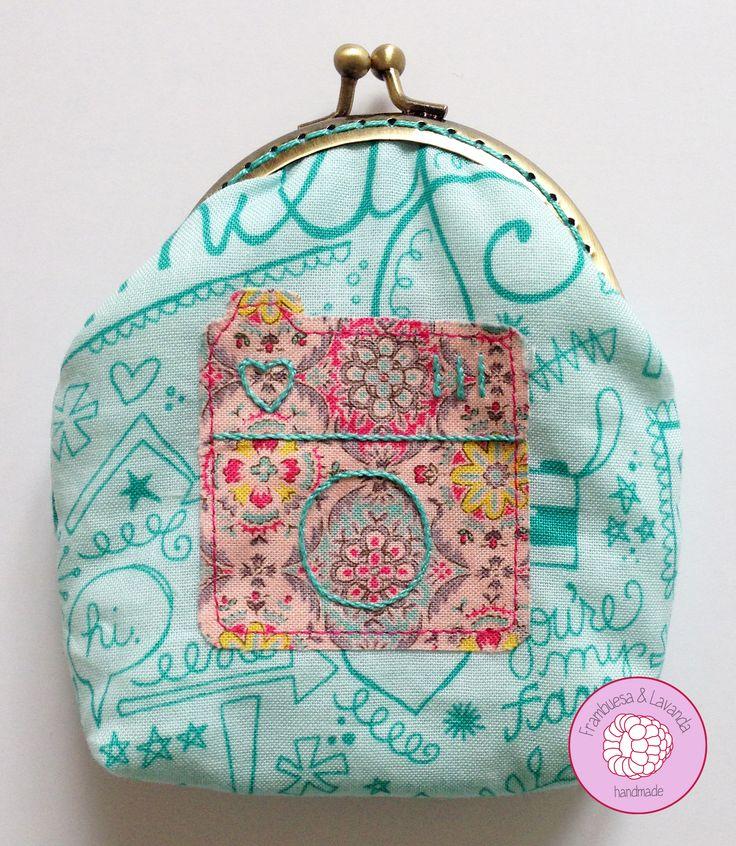 #monedero #patchwork #costura #handmade #boquilla