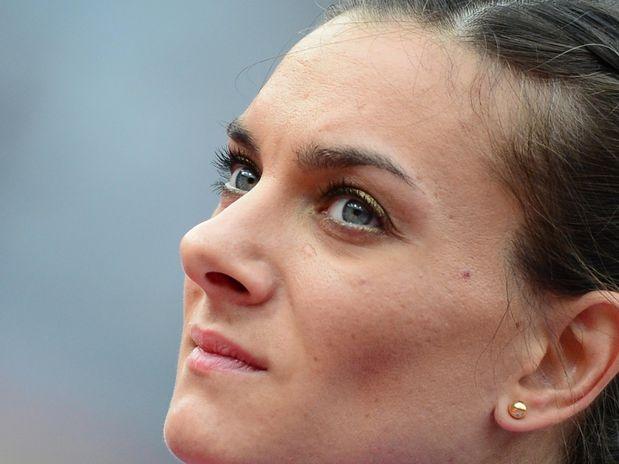Yelena Isinbayeva (RUS) - atletismo  Foto: AFP
