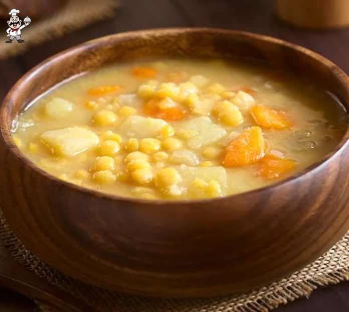 Смотрите Постный суп из гороха рецепт