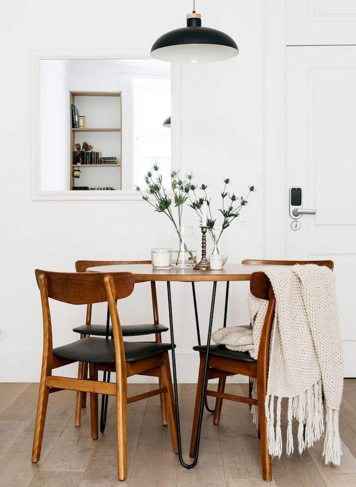 105 Incredible Modern Farmhouse Dining Room Decor Ide Minimalist Dining Room Dining Room Small Modern Farmhouse Dining Room