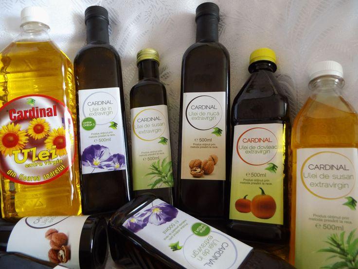Uleiurile Cardinal sunt cele mai bune uleiuri presate la rece extravirgine de pe piata romaneasca pentru ca...