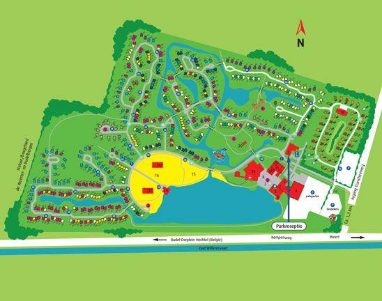 Roompot Weerterbergen 2013 Map Screenshot Map