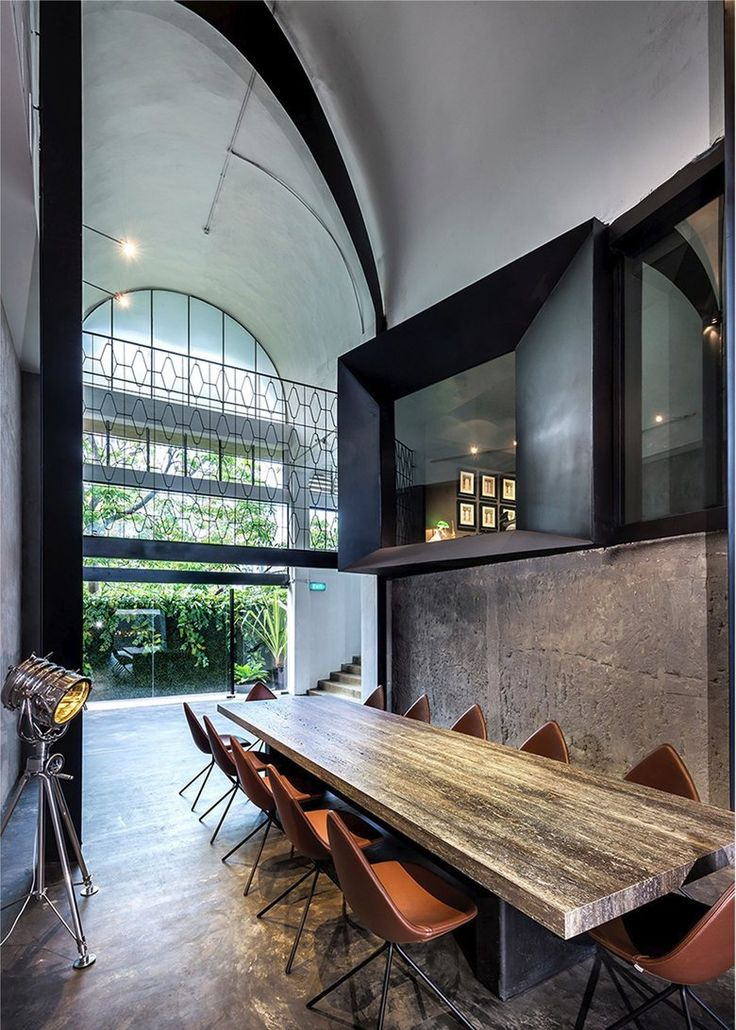 Architects Office at Kim Yam Road, 2014 - Park + Associates