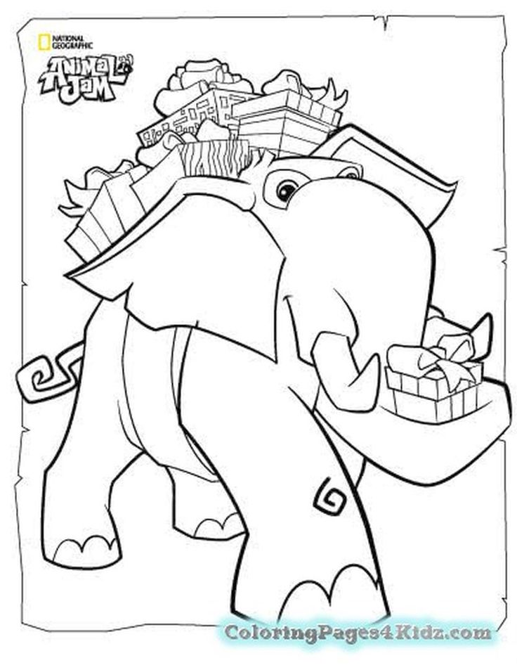 17++ Animal jam coloring pages ideas in 2021