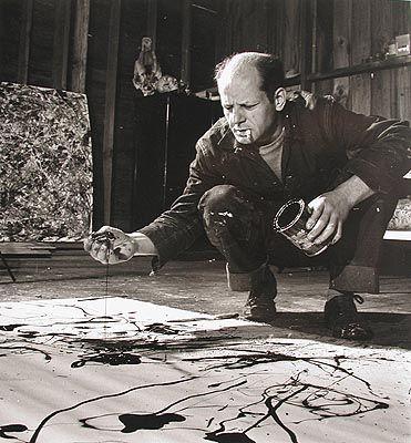 the great Jackson Pollock